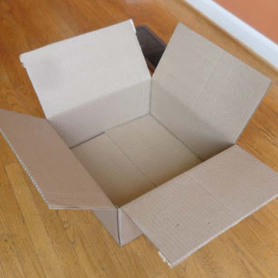 recylable cardboard box