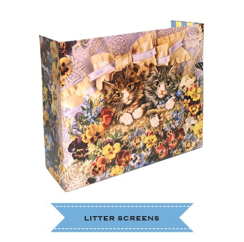 Kitty Litter Box Screens